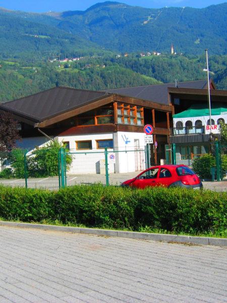 Palazzetto dello sport di Bressanone Sporth. Brixen